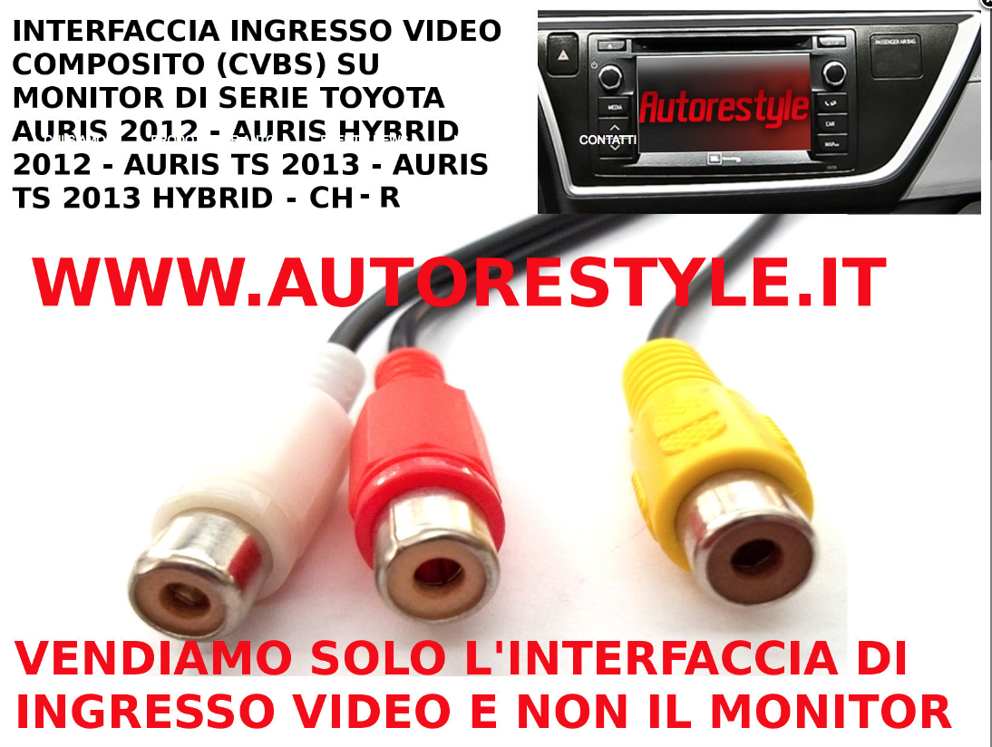 AURIS VIDEO IN CON NAVY