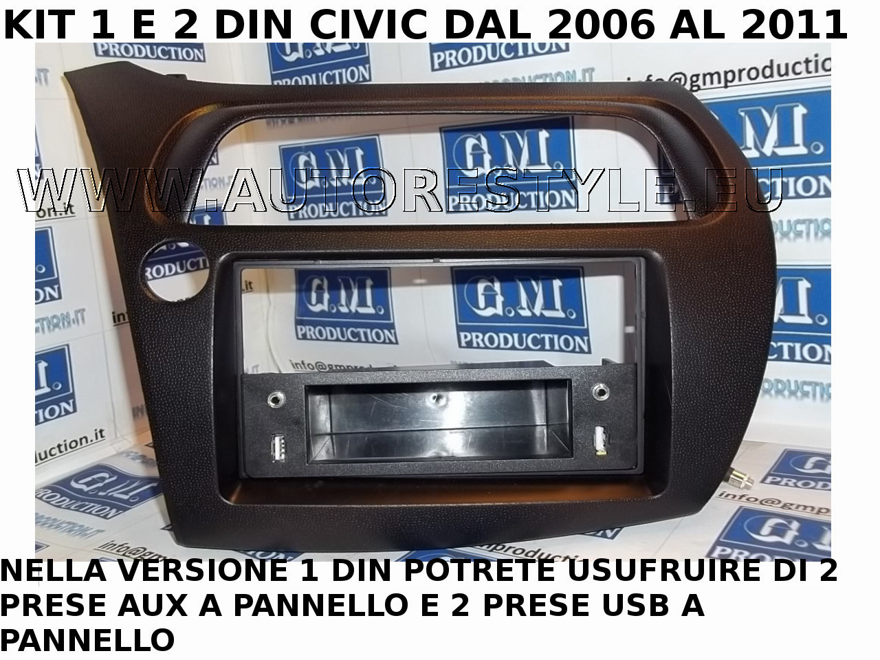 CIVIC 1DIN USB