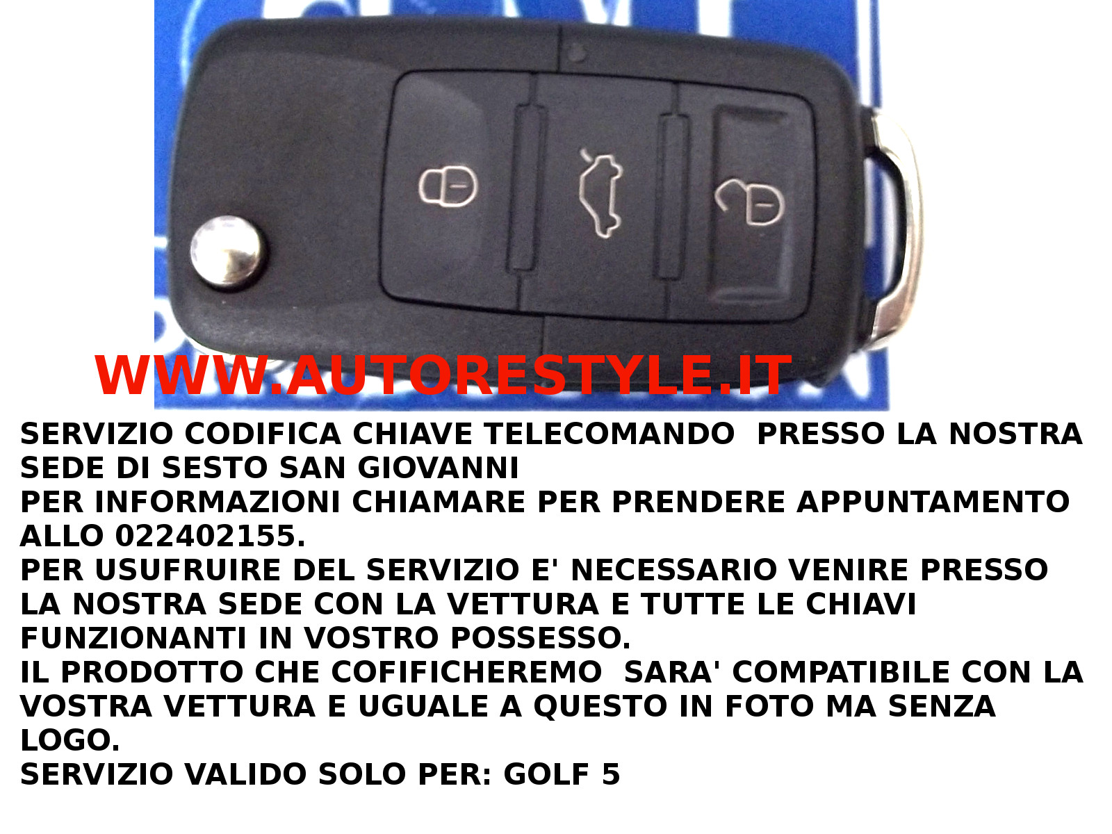 CODIFICA GOLF 5
