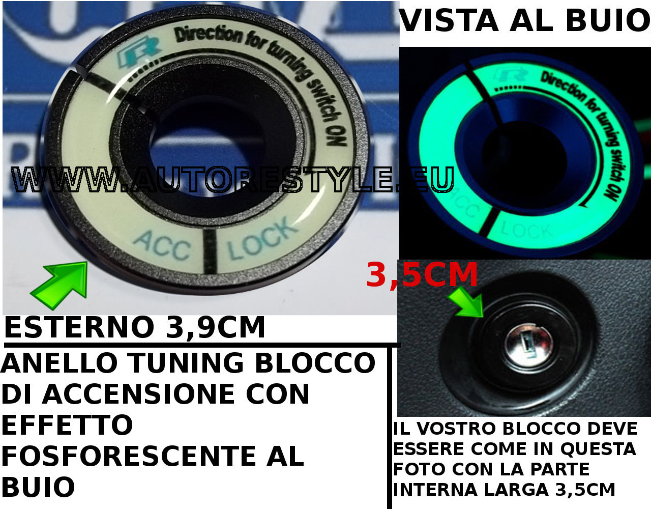 RING VW NERO