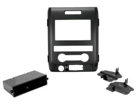 KIT MASCHERINA AUTORADIO RADIO 1 e DOPPIO 2 DIN FORD F150 2009 a 2012 (XL model)